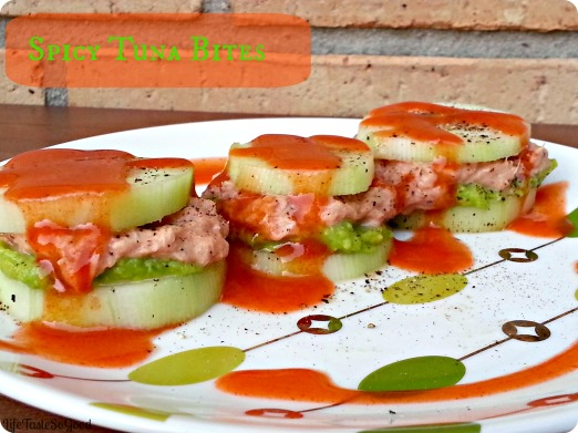 Spicy tuna with titile