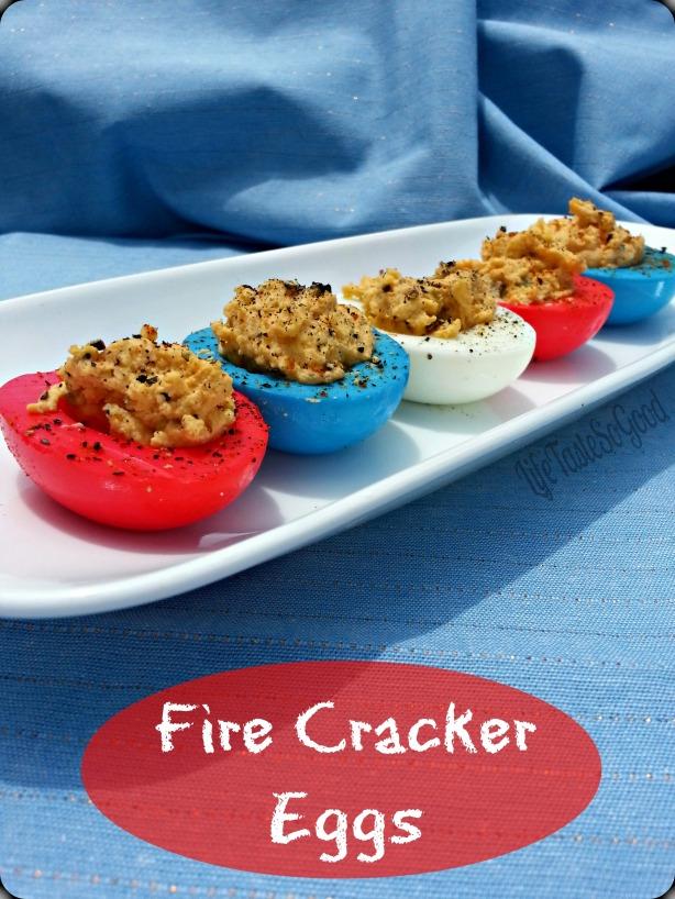 fire cracker eggs